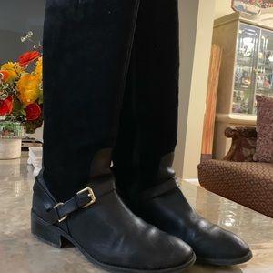 Lauren Ralph Lauren Womens Knee High Zip Up Boots